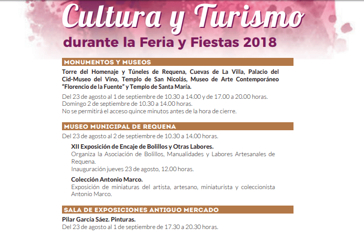 fiestas requena 2018